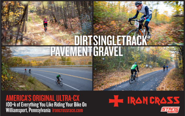 Iron Cross Race, ultra cross at its finest, all roads and some dirt!