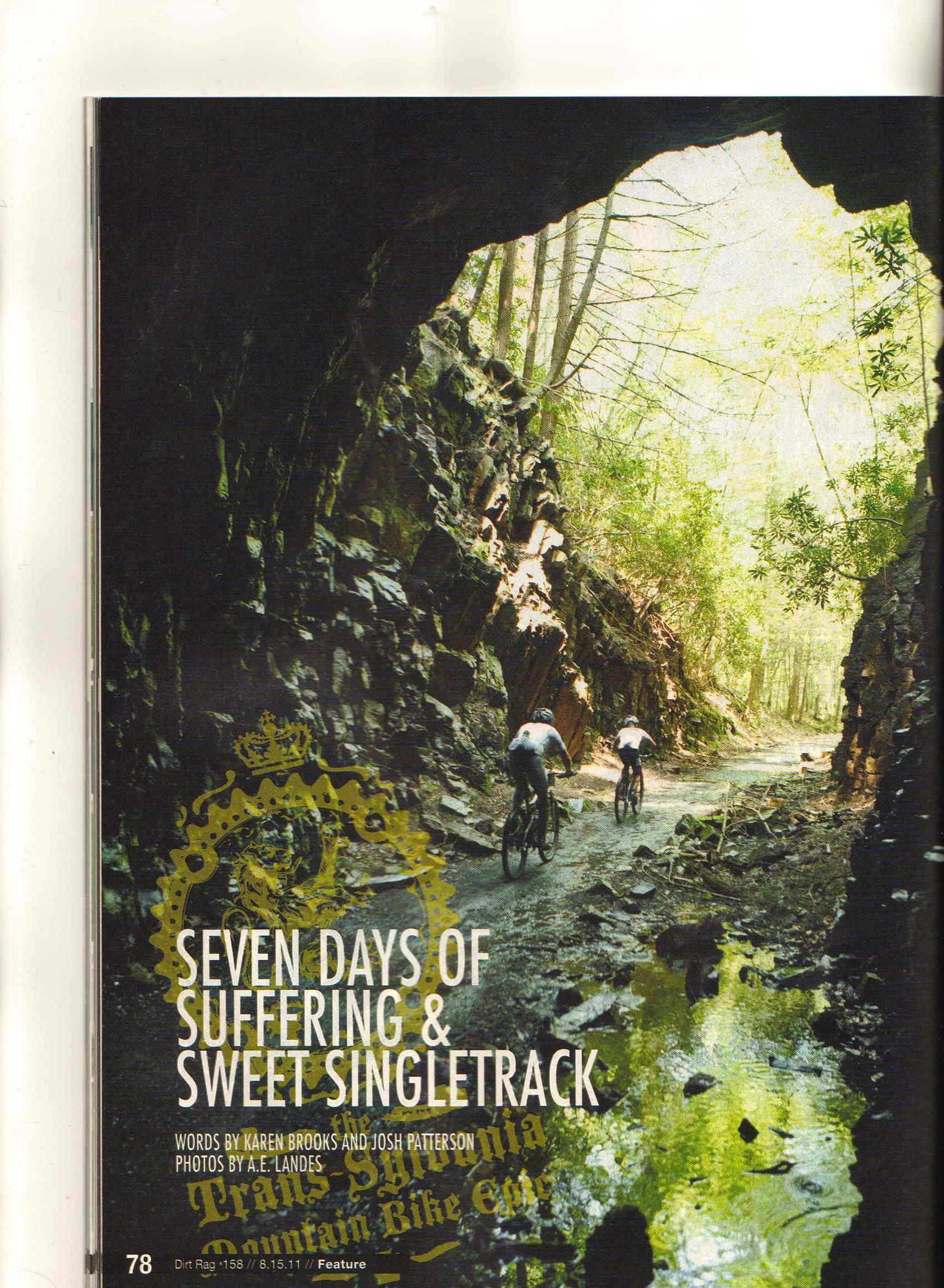 Dirt Rag pg 1 August 2011
