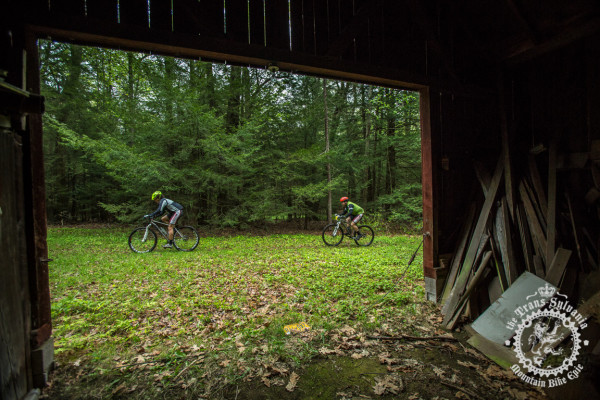 Riders experience rustic cabin and farm sites throughout Stage 5