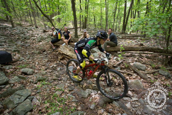 Michael Broderick cleans Wildcat Gap of Stage 3 of the Trans-Sylvania Epic