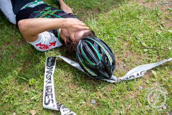 Scott McGill Jr. gave everything to make it through a tough Stage 2 of the NoTubes Trans-Sylvania Epic.