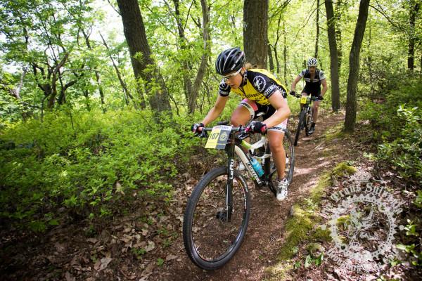 Amanda Carey, women's winner of the 2013 NoTubes Trans-Sylvania Epic mountain bike stage race presented by Dirt Rag Magazine.