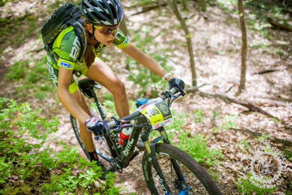 Emily Shields (Stan's NoTubes Elite Women's Team) won the Under 25 women's category at the 2014 NoTubes Trans-Sylvania Epic mountain bike stage race and will be back to defend her title again in 2015.