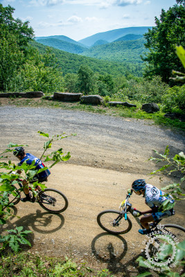 Riders experienced some beautiful views on today's stage 7 at the the NoTubes Trans-Sylvania Epic.