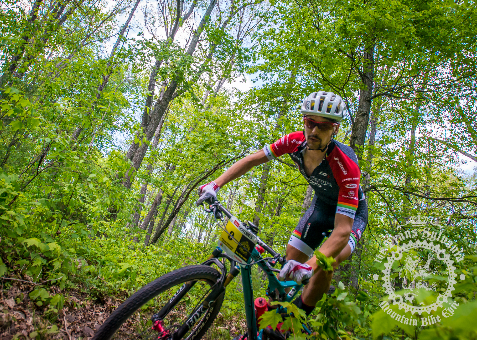 McElveen and Anthony win stage 1 at the NoTubes Trans-Sylvania Epic