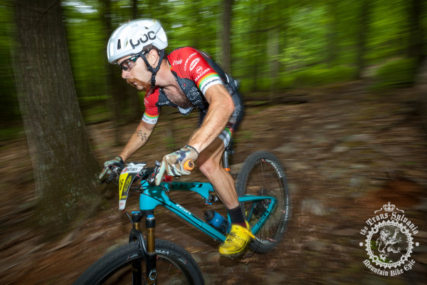 Tristan Uhl (Competitive Cyclist Team) would go on to finish second in the enduro stage at the NoTubes Trans-Sylvania Epic Mountain Bike Stage Race.