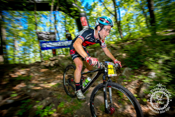 Justin Lindine (Competitive Cyclist) won the elite men's race at the 2013 NoTubes Trans-Sylvania Epic mountain bike stage race and is the top favorite for 2015.