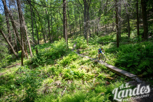 The Queen Stage 6 included some of the best trails in the forest; John Wert, Three Bridges, and Tussey Ridge.