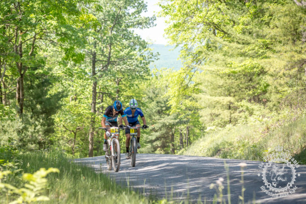 Kerry Werner (Rally Cycling) and Justin Lindine (Apex / NBX / Trek)
