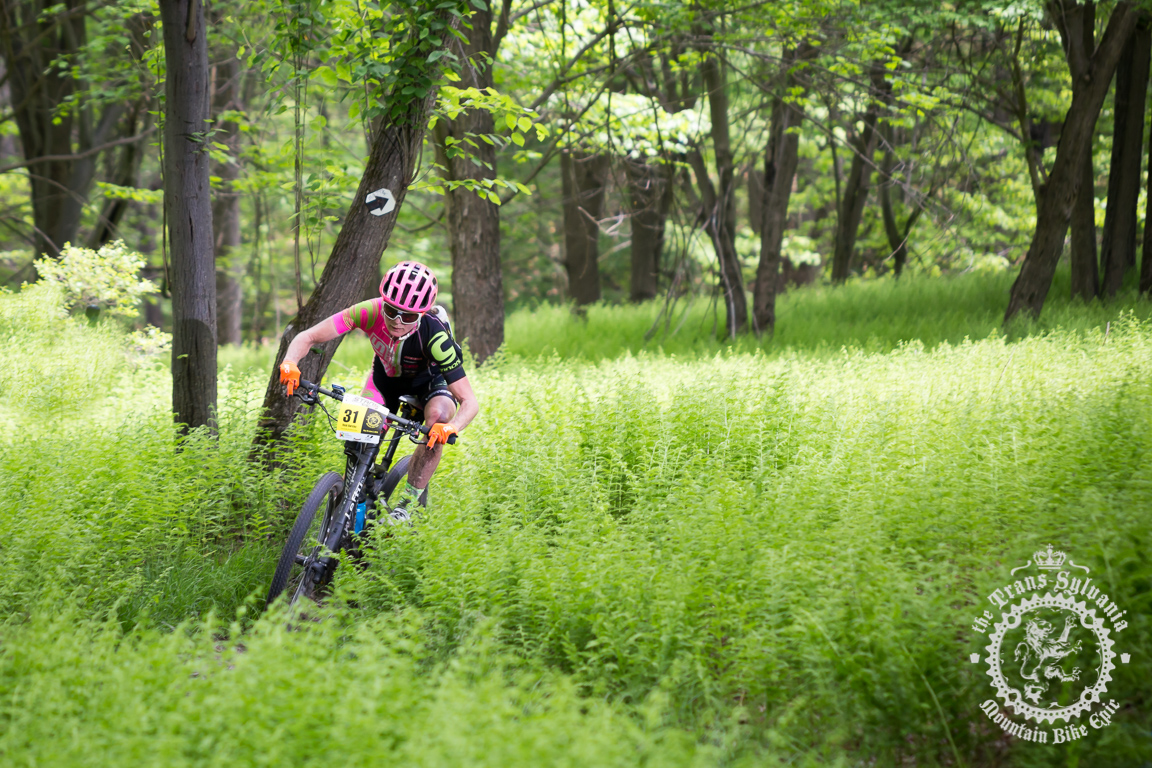 Werner and Barclay win opening stage at the NoTubes Trans-Sylvania Epic