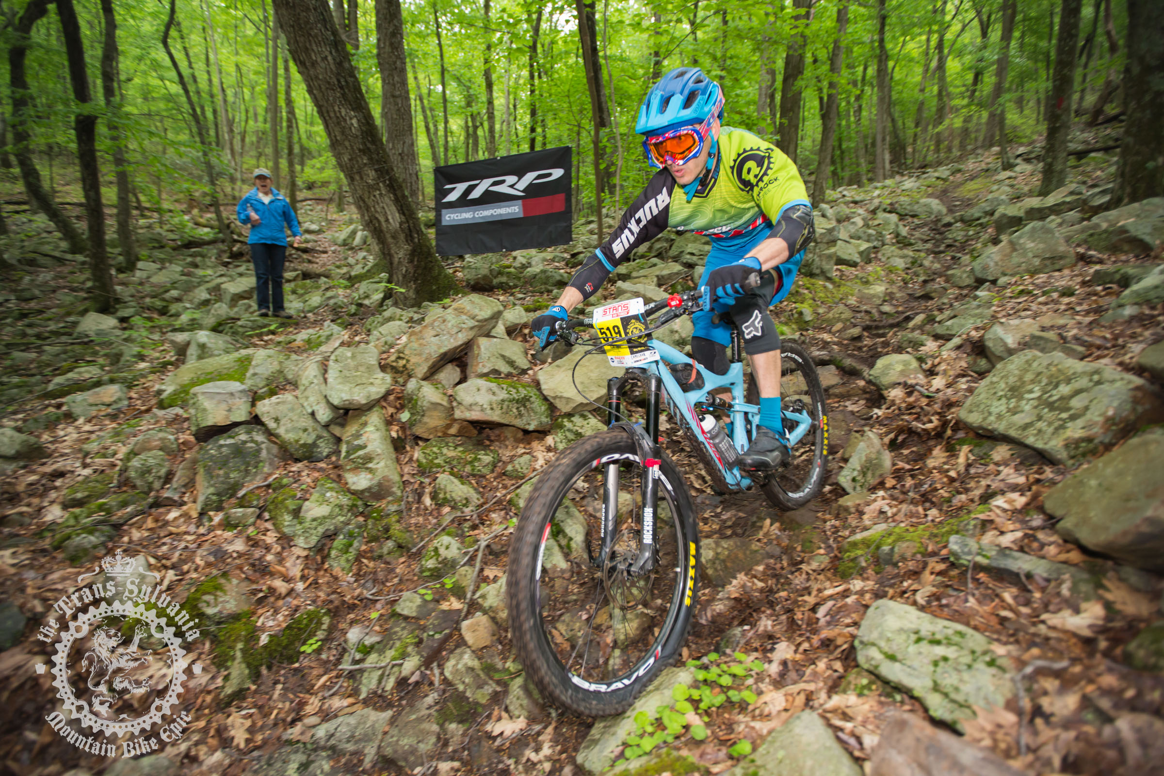 Phillips and Liu Win Enduro Stage at the NoTubes Trans-Sylvania Epic